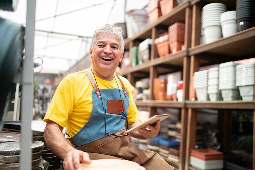 pottery merchant
